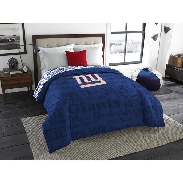 The Northwest Company Official NFL New York Giants Anthem Full Comforter