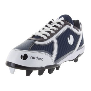 Verdero Men's Force Navy and White Mesh Low-molded Baseball Cleat