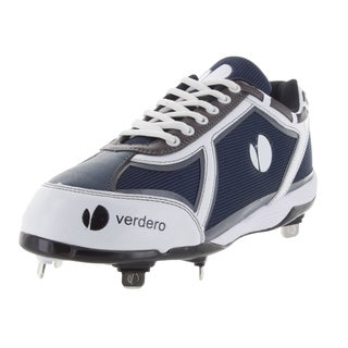 Verdero Men's Force Low Metal Blue/White Baseball Cleats