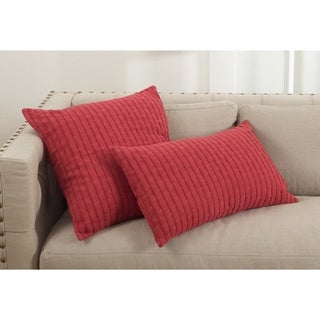 Rorie Collection Classic Design Down Filled Cotton Throw Pillow