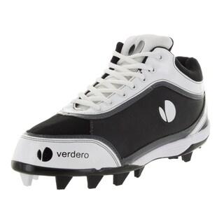Verdero Men's M-spike Molded Black/White Baseball Cleat