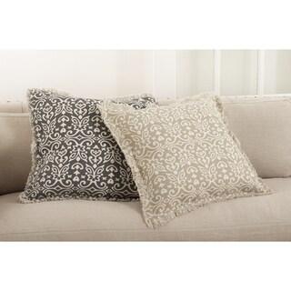 Naxos Collection Geometric Design Down Filled Cotton Throw Pillow