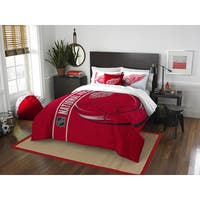 The Northwest Company Official NHL Detroit Red Wings Full Applique 3-piece Comforter Set