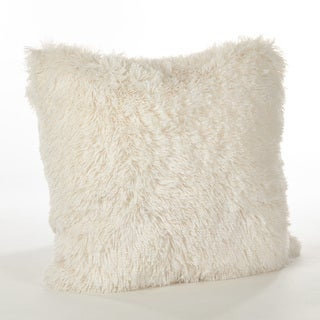 Juneau Collection Classic Faux Fur Down Filled Throw Pillow
