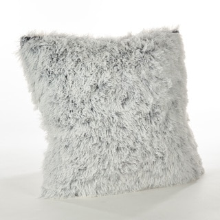 Juneau Collection Two-Tone Faux Fur Down Filled Throw Pillow
