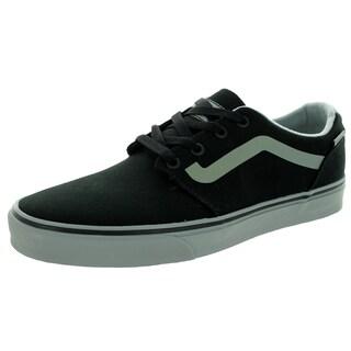 Vans Men's Chapman Black Canvas Skate Shoes
