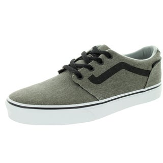 Vans Men's Champman Grey Canvas Skate Shoes