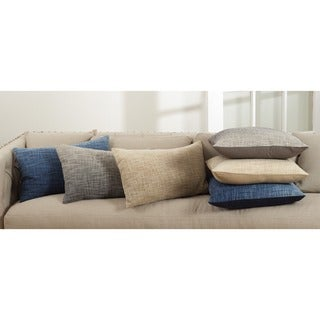 Lancaster Collection Ombre Design Down Filled Cotton Throw Pillow