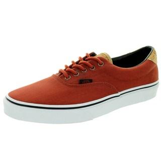 Vans Unisex Era 59 Cork Twill Arabian Spice Red Canvas Skate Shoe