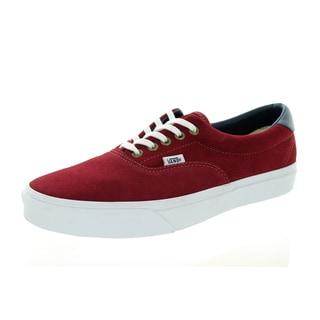 Vans Unisex Era 59 Red Suede Skate Shoes