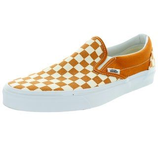 Vans Unisex Classic Slip-On Golden Coast Golden/True White Canvas Skate Shoe