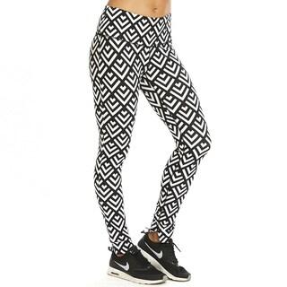 Satva Women's Mantra Cotton/Spandex Organic Athletic Leggings