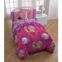 Disney Frozen Friendship Twin 5-piece Bedding Set