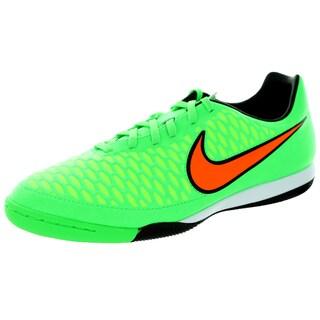 Nike Men's Magista Onda Ic Psn Green/Orange/Black Synthetic/Leather Indoor Soccer Shoe