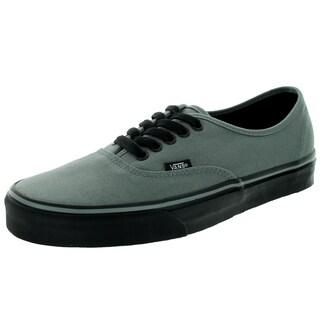 Vans Unisex Authentic Black-sole Sedona Sage Canvas Skate Shoes