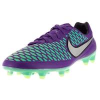 Nike Men's Magista Orden FG Hyper Grape/Metallic Silver/Green Synthetic Soccer Cleat
