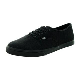 Vans Unisex Authentic Lo Pro Glitter Black Textile Casual Shoes