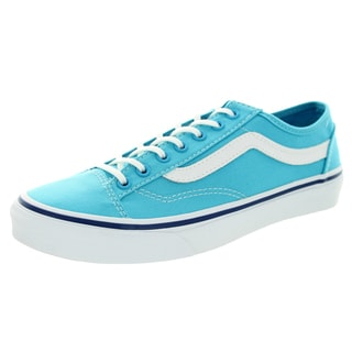 Vans Unisex Style 36 Slim Cyan Blue/True White Skate Shoes