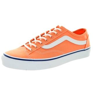 Vans Unisex Style 36 Slim Cantaloupe/True White Canvas Skate Shoe