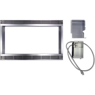 Stainless Steel 27 Inch Built In Trim Kit For Sharp