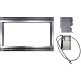 Sharp Stainless Steel 30-inch Built-in Trim Kit for Sharp Microwave R651ZS - 30""
