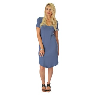 Lyss Loo Truly Madly Scoop-Neck Dress