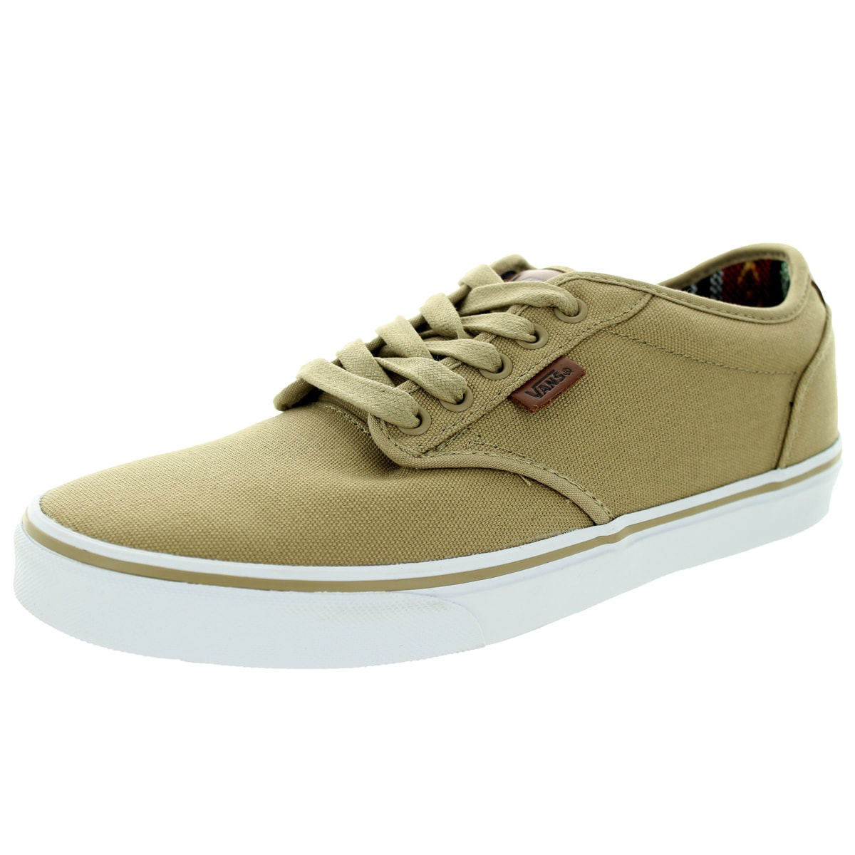 Atwood Beige Canvas Skate Shoes