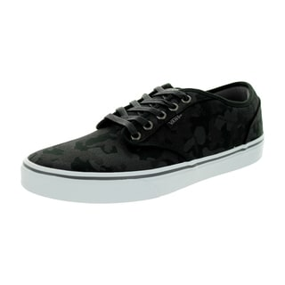 Vans Men's Atwood (Camo) Black/Pewter Canvas Skate Shoe