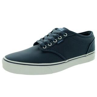 Vans Men's Atwood Ballistic Navy and Moonstruck Canvas Skate Shoe