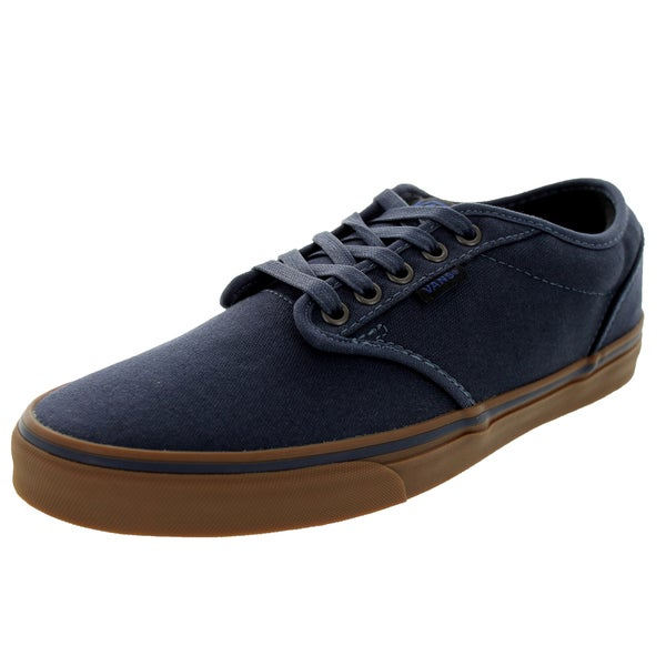 Shop Vans Men's Atwood Navy and Gum 12 ounce Canvas Skate