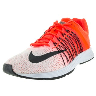Nike Men's Air Zoom Streak 5 White/Black/Total Crimson Running Shoe