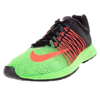 Nike Men's Air Zoom Streak 5 Green Strike/Hyper Orange/Black Mesh Running Shoe