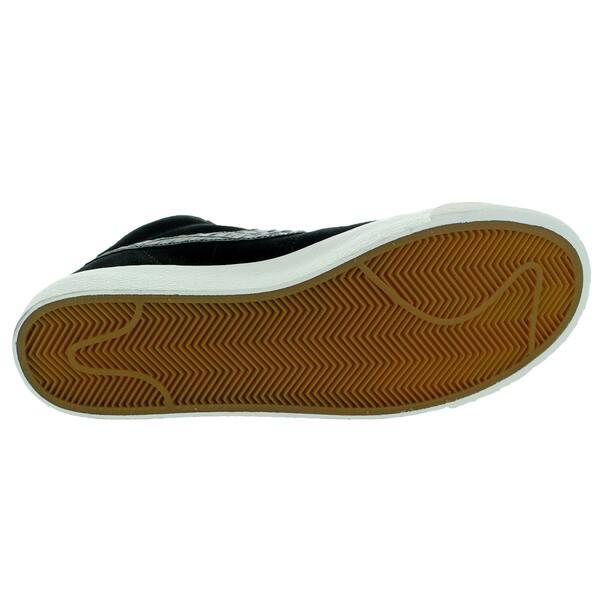 buying now shop best sellers wholesale price Shop Nike Men's Blazer Mid PRM Vintage Black and Sail Suede ...