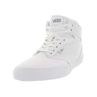 Vans Men's Atwood Hi White Synthetic/Perforated Leather Skate Shoe