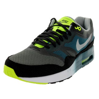 Nike Men's Air Max 1 Black Mesh Running Shoes
