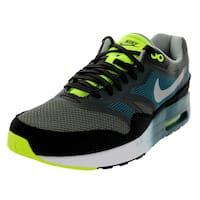 Nike Men's Air Max 1 Black Mesh Running Shoes