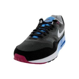 Nike Men's Air Max 1 C2.0 Black, White, and Dark Grey Leather Running Shoe