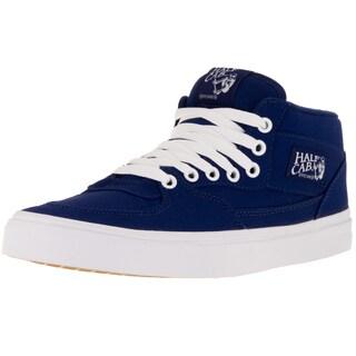 Vans Unisex Half Cab Blue Canvas Skate Shoes