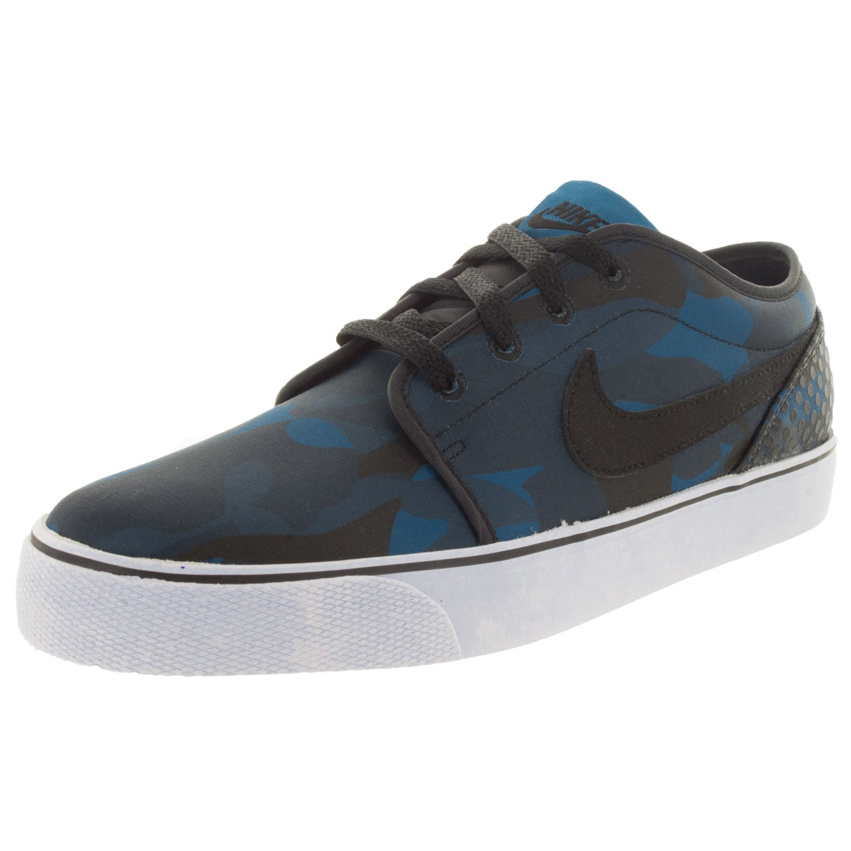 Nike Men's Toki Red/Multicolor Canvas Casual Walking Shoe...