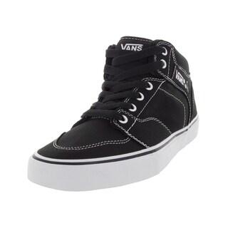 Vans Men's Brooklyn Black/White Canvas Skate Shoe