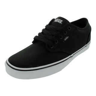 Vans Atwood Black Canvas Skate Shoes
