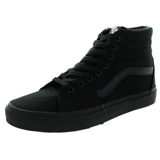 Vans Unisex Sk8-Hi Black Canvas Skate Shoe|https://ak1.ostkcdn.com/images/products/12115353/P18975982.jpg?_ostk_perf_=percv&impolicy=medium