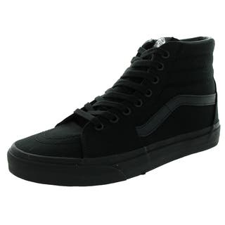 Vans Unisex Sk8-Hi Black Canvas Skate Shoe|https://ak1.ostkcdn.com/images/products/12115353/P18975982.jpg?impolicy=medium