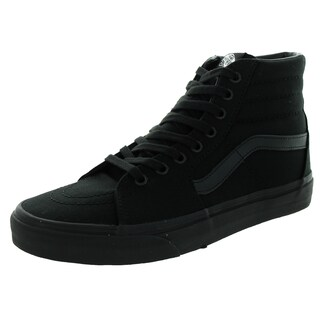 Vans Unisex Sk8-Hi Black Canvas Skate Shoe