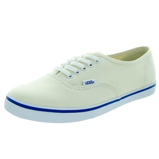Vans Unisex Authentic Lo Pro White Canvas Walking Shoes