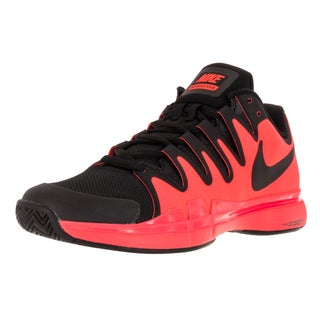 Nike Men's Zoom Vapor 9.5 Tour Black Mesh Tennis Shoes
