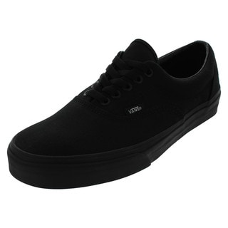 Vans Men's Era Black Canvas Skate Shoes