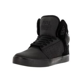 Supra Men's Atom Black/Black Skate Shoe