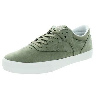 Supra Men's Phoenix Laurel Oak/White Leather Skate Shoe
