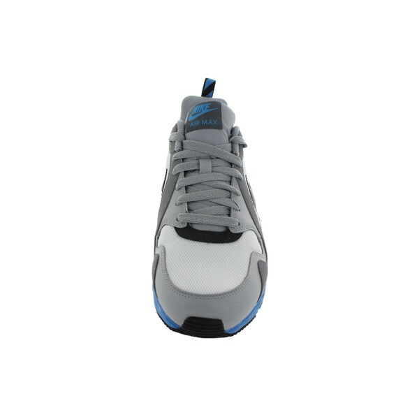 Shop Nike Men's Air Max Trax WhiteAnthraciteGrey Running